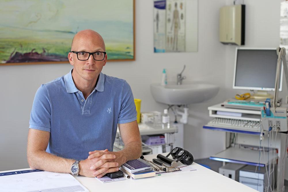 Dr. Gerald Huber, Facharzt für Neurologie und Schmerztherapie